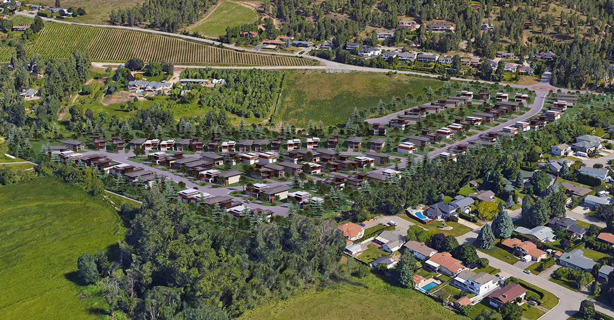 Exclusive Lots for sale in Kelowna's Lower Mission - The Orchard in the Mission